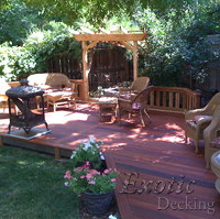 Tigerwood Exotic Decking